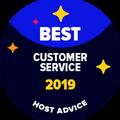 En İyi Müşteri Destek nişanı, E-Posta & Telefon destekleri editörlerimiz tarafından isimsiz bir şekilde test edilen ve mükemmel olduğu kanıtlanan şirketlere verilir.